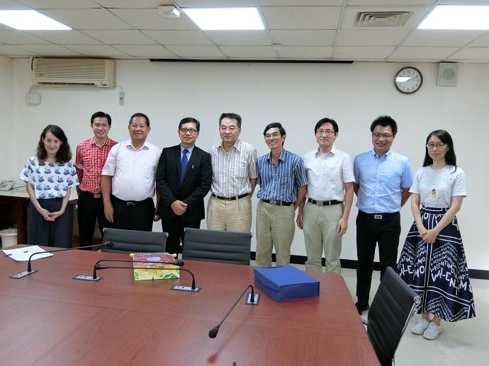 菲律賓國立伊莎貝拉大學訪問團蒞院訪問