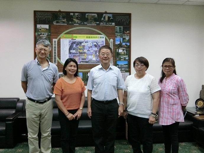 菲律賓Bengust State University 訪問團蒞院訪問