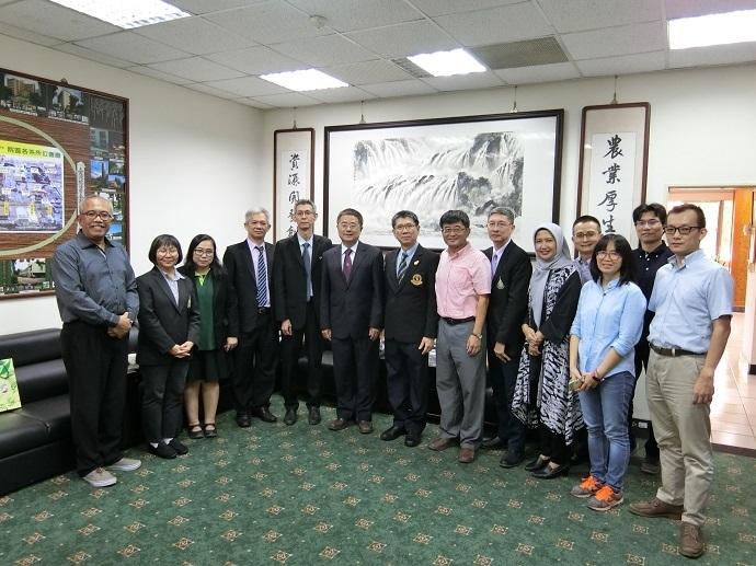 泰國農業大學等五所大學院長訪問團蒞院訪問