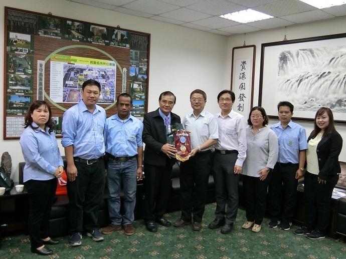 20181119泰國皇家計畫基金會專家研習團蒞院訪問