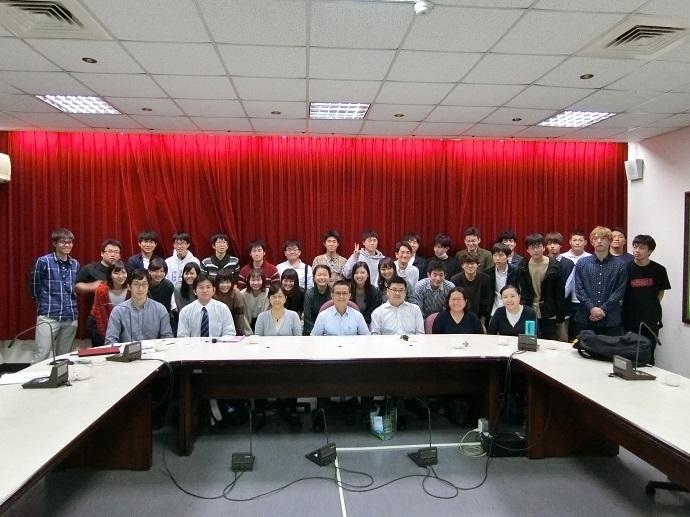 日本東京農業大學應用經濟學科師生訪問團蒞院參訪
