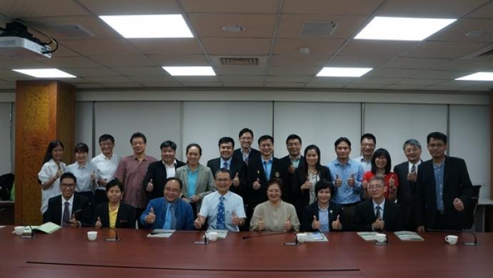 泰國七大農業大學訪問團蒞臨農資學院交流座談