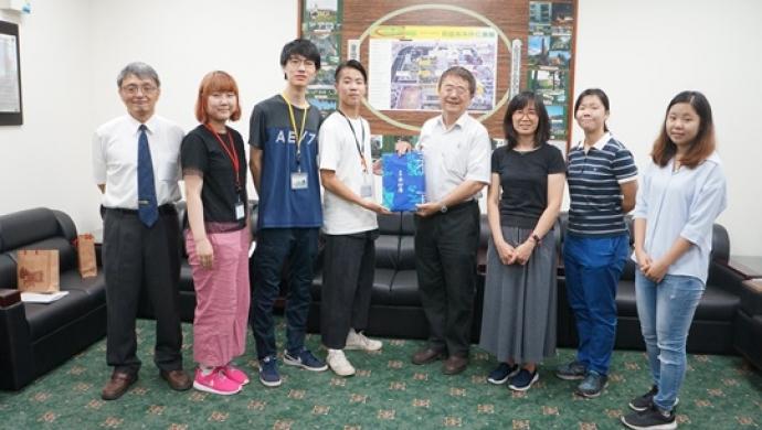 日本麻布大學來訪