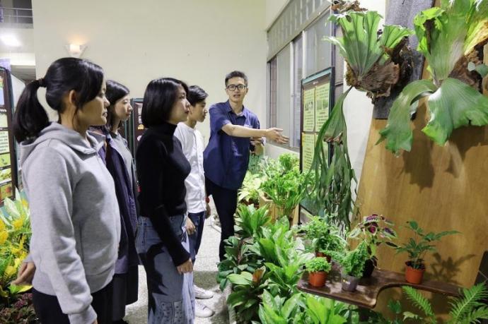 興大園藝週登場 展出特色熱帶植物