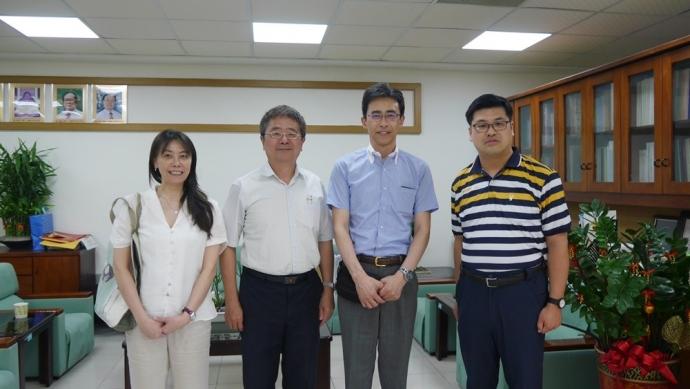 日本明治大學(農學部食料環境政策學科)作山巧教授拜訪農資學院