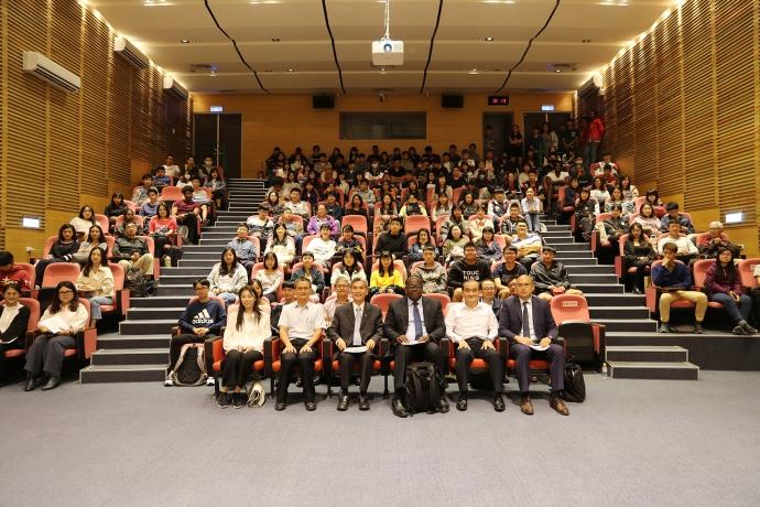 【公關組】世界貿易組織(WTO)農業處長凱西 中興大學開講