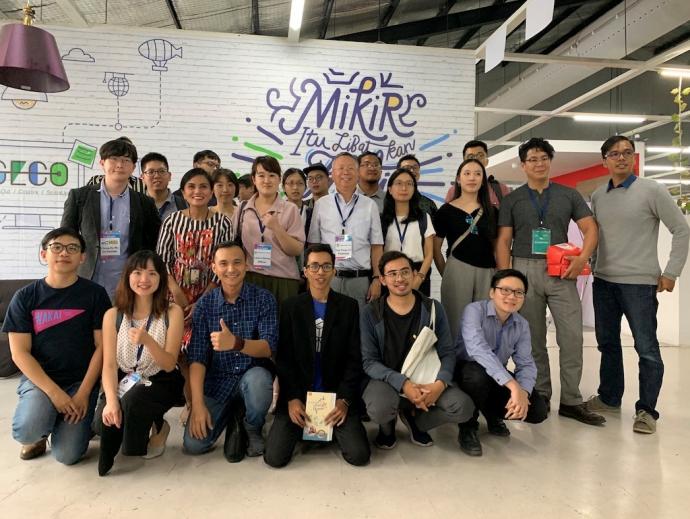 【公關組】興大林耀東團隊參加印尼臺灣形象展 展示新創農業技術