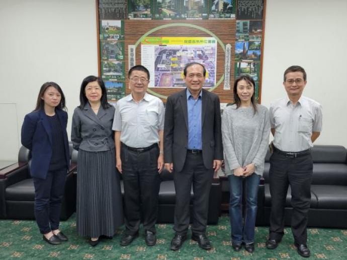 國際合作發展基金會副秘書長李栢浡等人蒞院拜訪討論國際合作事宜