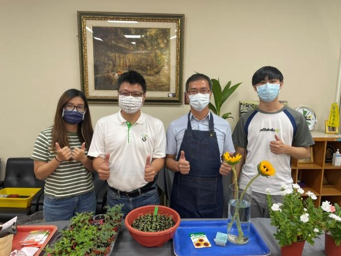 【公關組】疫情期間「宅園藝」 興大開設線上園藝課受歡迎
