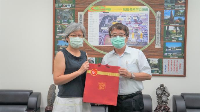 亞蔬—世界蔬菜中心林彥蓉副主任等人蒞院拜訪討論雙邊合作事宜