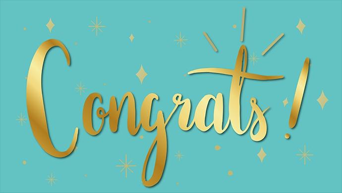 恭喜本院16名學生榮獲108學年度優秀畢業生德智獎