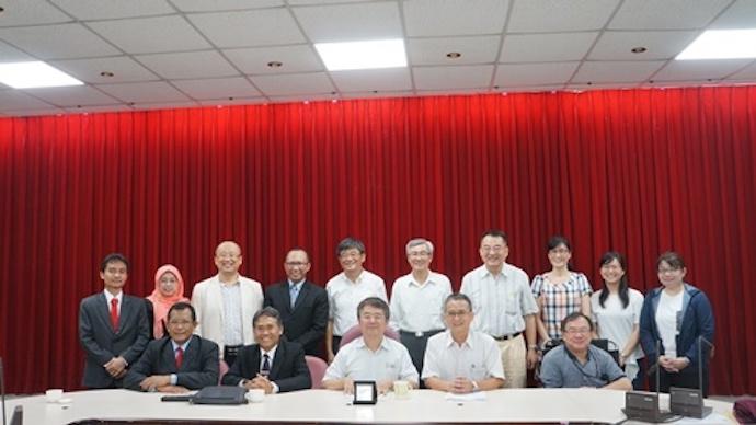 印尼UGM大學訪問團蒞院訪問