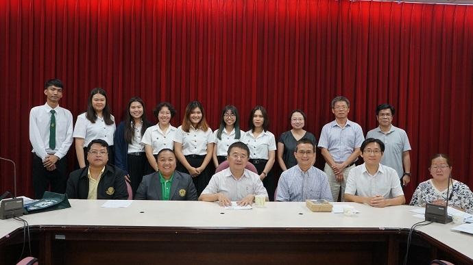 泰國Kasetsart University暑期訓練課程開訓典禮