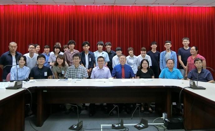日本大學暑期研習團開訓典禮