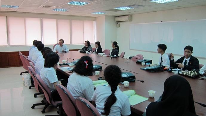 泰國農業大學師生研習訪問團開訓典禮