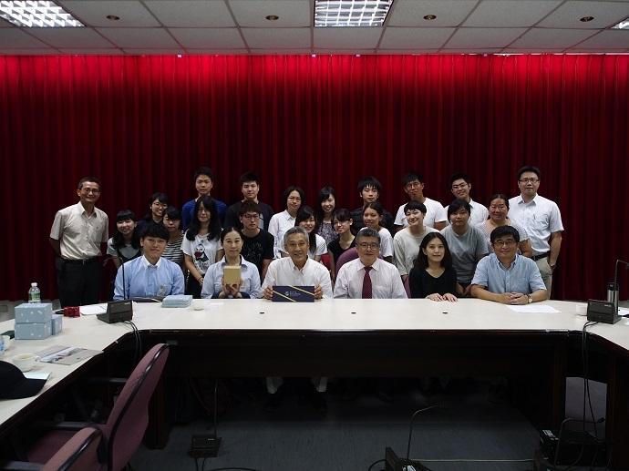 東京農業大學暑期研習團開訓典禮