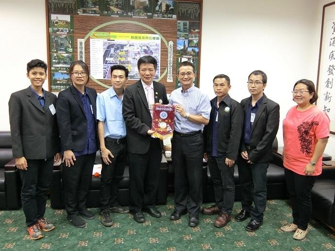 泰國皇家計畫基金會訪問團蒞院訪問
