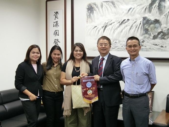 菲律賓Central Bicol State University of Agriculture 訪問團蒞院訪問