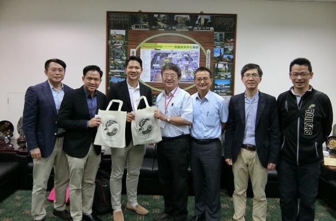 泰國朱拉隆功大學農學院訪問團蒞院訪問