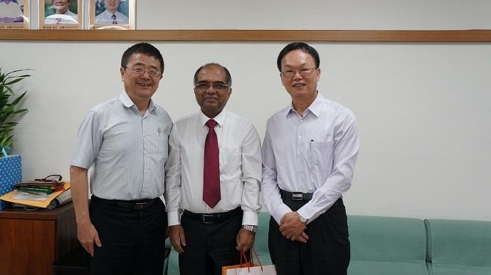 印度國家科學院院士蒞院訪問