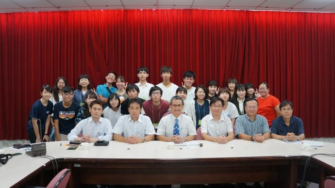 日本東京農業大學暑期研習團開訓典禮