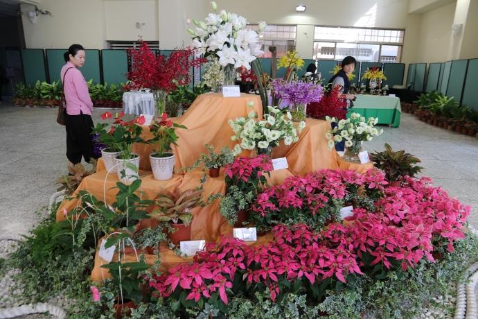 「花現新生活」興大登場 展示新興花卉、創意花卉點心
