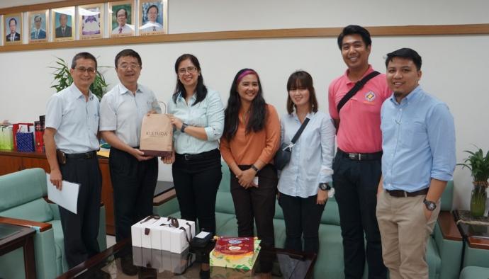 菲律賓洛斯巴尼奧斯大學University of the Philippines Los Banos 來訪