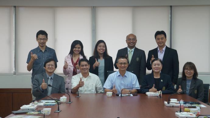 泰國清邁皇家大學與菲律賓中央比科爾州立農業大學來訪座談會