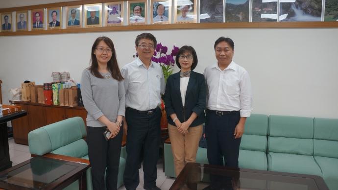 農委會防檢局鄒慧娟副局長與台中分局王子政分局長來訪