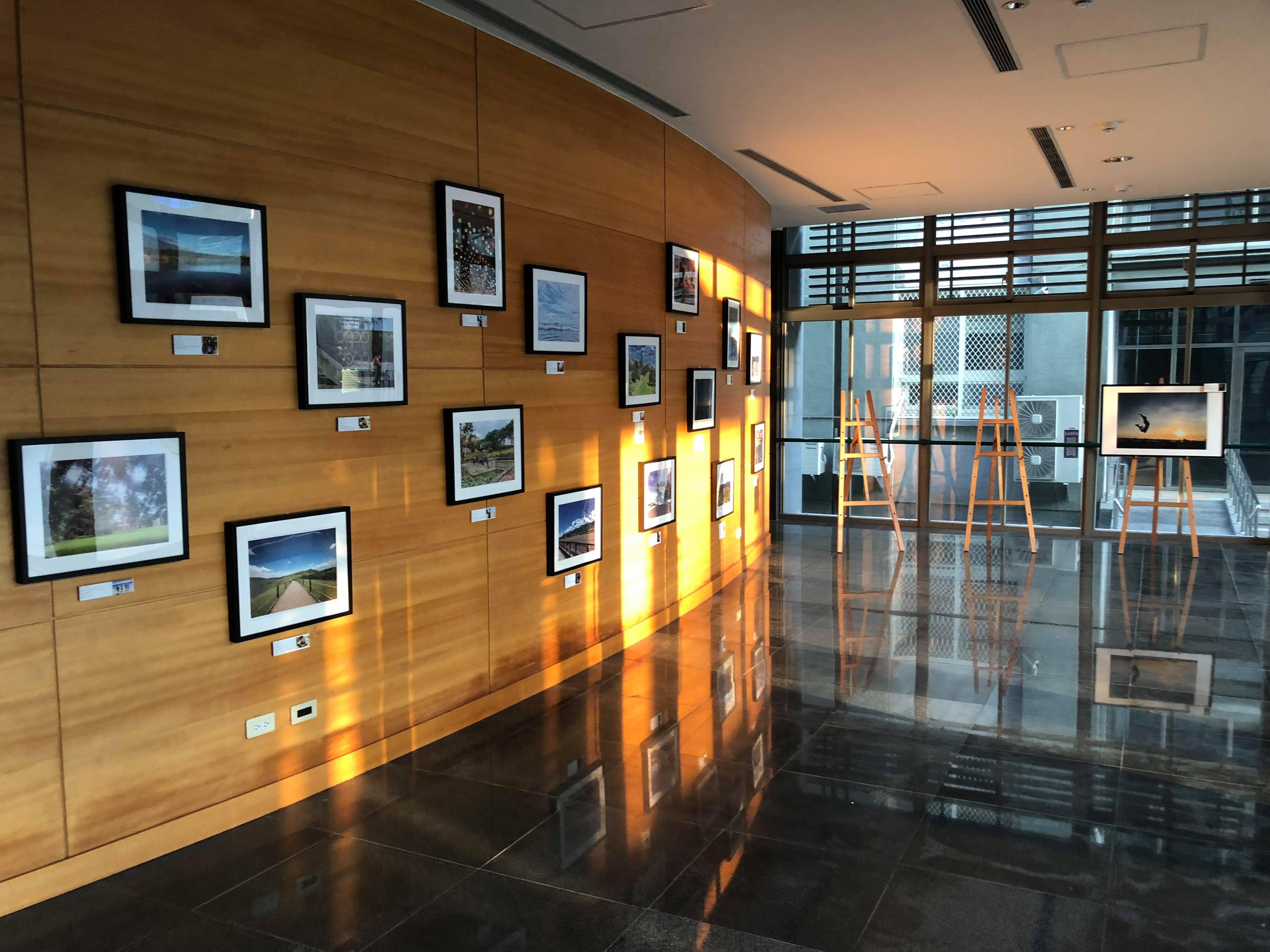 《ThousandSmile》活動於國農大樓一樓設有繪圖展及攝影展