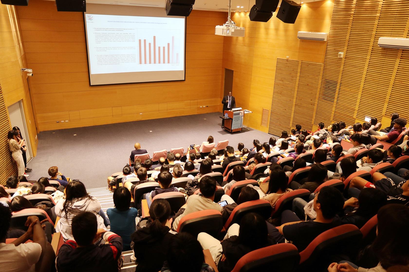 世界貿易組織(WTO)農業處長凱西 中興大學開講